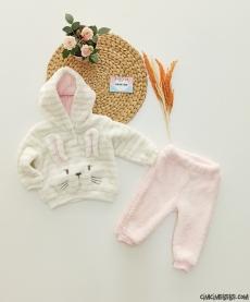 Welsoft Tavşan Bebek Takım