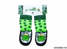 Kurbağa Figürlü Çarık Çorap