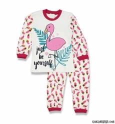 Flamingo Kız Çocuk Pijama Takımı