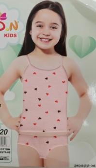 Sevimli Kız Çocuk Atlet