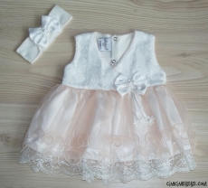 Fransız Dantelli Mevlütlük Elbise