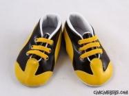 Sarı Lacivert Taraftar Bebek Ayakkabısı