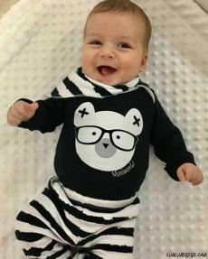Ayıcıklı Fularlı Badili 3'lü Bebek Takım
