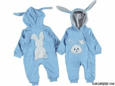 Poposu Ponponlu Tavşancık Bebek Tulum
