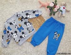 Sevimli Miki İçi Polar Eşofman Takımı