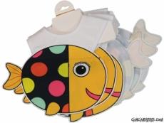 Balık Figürlü Bebek Önlük