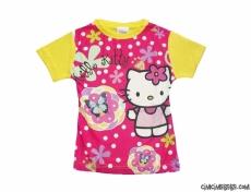 Hello Kedi Kız Çocuk T-Shirt