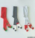 Yılbaşı Temalı Havlu Bebek Külotlu Çorap