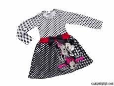 Kız Çocuk Fareli Kız Çocuk Elbise