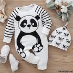 Sevimli Pandalı Bebek Tulum