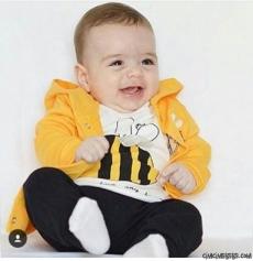 Arılı Erkek Bebe Takım