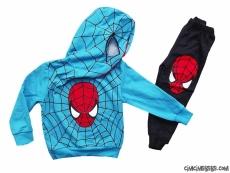 Maskeli Süpergüç Kışlık Çocuk Eşofman Takımı