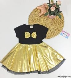 Lameli Kız Çocuk Elbise