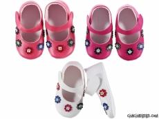 Çiçekli Bebe Ayakkabı