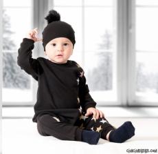 Yıldızlı Şapkalı Tarz Bebek Tulum