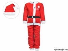 Noel Baba Şapkalı Polar Yeni Yıl Kostüm