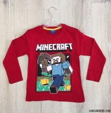 Robot Baskılı Erkek Çocuk Sweatshirt