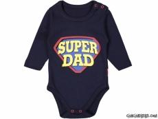 Süper Dad Uzun Kollu Bebek Body