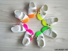 Fosforlu Kız Bebek Ayakkabı