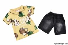Aloha Ananaslı Erkek Çocuk Takım
