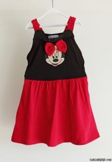 Askılı Minili Kız Çocuk Elbise