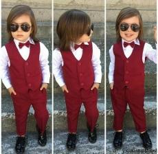 Tarz Erkek Bebek Takım Elbise