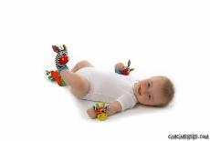 Çıngıraklı Çorap-Bileklik Set