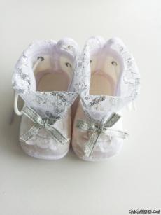 Tüllü Bebek Ayakkabısı