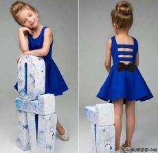 Fiyonklu Bandanalı Dalgıç Elbise