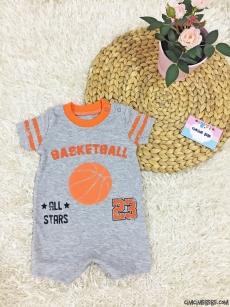 Basketball Kısa Bebek Tulum