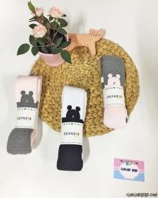 Kız Bebek Kalın Havlu Külotlu Çorap