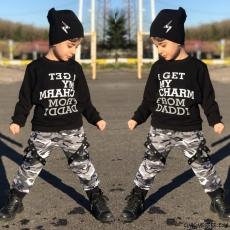 Kamuflaj Erkek Çocuk Eşofman Takımı