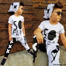 So Fly Şapkalı Erkek Çocuk Tarz Takım