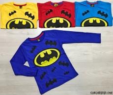 Yarasa Baskılı Sweatshirt