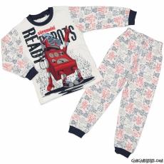 Robotlu Erkek Çocuk Pijama Takımı
