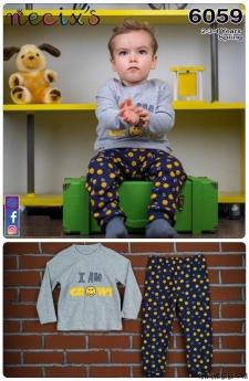 Grows Erkek Çocuk Pijama Takımı