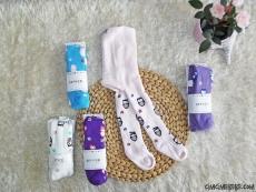 Baykuşlu Kışlık Havlu Külotlu Çorap