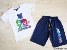 Pijamaskeliler Erkek Çocuk Şortlu Takım