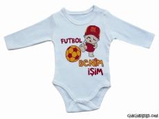 Futbol Benim İşim Bebek Badi
