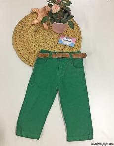 Likralı Renkli Kot Pantolon