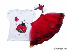 23 Nisan Uğurböceği Tütülü Kostüm