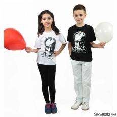 Atatürk Baskılı Çocuk T-Shirt