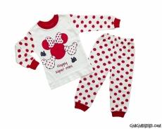 Süper Mini Kız Pijama Takımı