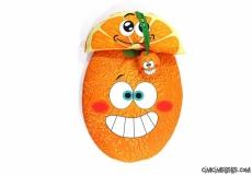 Portakallı Bebek Alt Açma Seti