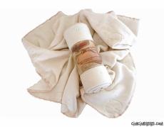 % 100 Organik Pamuk Fleece Battaniye