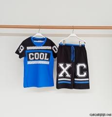 Cool Erkek Çocuk Şortlu Takım