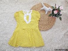 Terikoton Kız Çocuk Elbise