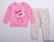 Flamingolu Kız Çocuk Eşofman Takımı