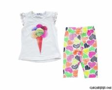 Dondurma Taytlı Kız Çocuk Takım