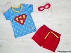 Süper Güçlü Bebek Maske Hediyeli Takım